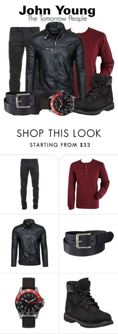 """""""John Young"""" by lulu-the-guinea-pig ❤ liked on Polyvore featuring Balmain, Pendleton, Uniqlo, Izod, Timberland, men's fashion, menswear, johnyoung and tomorrowpeople"""