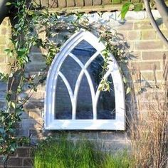 Gothic Mirror - Large Cream - Harrod Horticultural