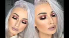 CRANBERRY SPOTLIGHT EYE MAKEUP TUTORIAL | HUDABEAUTY DESERT DUSK PALETTE...