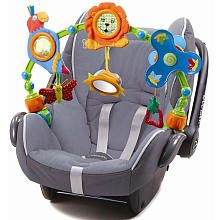 Tiny Love Musical Nature Car Seat Toy -  great for keeping baby entertained in stroller, carseat, or swing