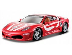 The Burago Ferrari F430 Fiorano is a diecast model car from this fantastic manufacturer in 1/24th scale.