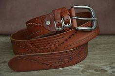 Belt Brown Leather Belt please