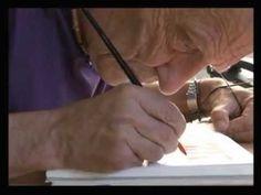 Jean Giraud / Moebius illustre Télérama, 2010 (Making-of)