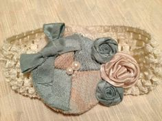 Vintage baby headband