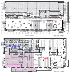 Prada Store New York Floor Plan  #architecture #Koolhaas #OMA #Rem Pinned by www.modlar.com