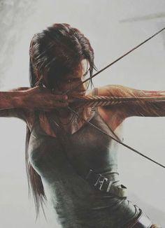Tomb Raider - Lara Croft archery is so fun Character Inspiration, Character Art, Writing Inspiration, Daily Inspiration, Illustration Inspiration, Orca Tattoo, Tomb Raider Lara Croft, Raiders, Female Characters