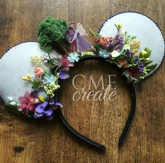 Sleeping Beauty Mickey Ears #diy #mickeyears #disney #minnieears #disneyears #craft #disneycraft