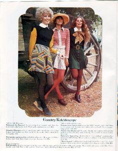 Vintage 1970s Fashion Flyer Vaughan's Dept Store