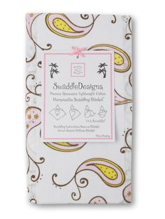 Marquisette Swaddling Blanket - Very Lightweight Openweave Cotton Marquisette - SwaddleDesigns