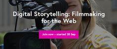 Enroll Now! Digital Storytelling: Filmmaking for the Web, Free Online Training! - http://blog.planet5d.com/2015/10/enroll-now-digital-storytelling-filmmaking-for-the-web-free-online-training/