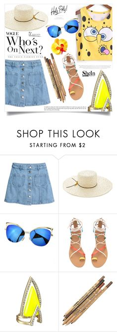 """Fiebre tropical"" by violet-peach ❤ liked on Polyvore featuring Eugenia Kim and Alexis Bittar"