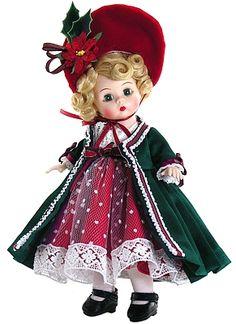 Madame Alexander Dolls Victorian Yuletide 2013