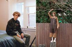 Lucas Bin at Vision LA captured by Daria Kobayashi Ritch / Teen Spirit / Editorial / Boys by Girls