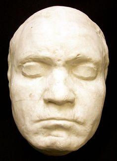 Beethoven's life mask.