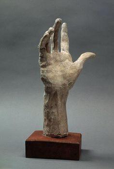 Auguste Rodin (1840 -1917) PIERRE AND JACQUES DE WISSANT, RIGHT HAND 1885-1886 Terracotta H. 33.8 cm ; W. 16.5 cm ; D. 14.1 cm | Rodin Museum