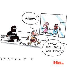 En Corse, le FLNC menace les «islamistes radicaux» - Dessin du jour - Urtikan.net