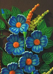 Синие цветы - часть1