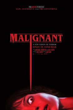 Malignant Poster Art and Trailer