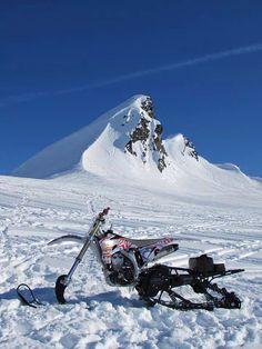 Snow Dirt Bike