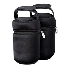 Tommee Tippee Insulated Bottle Bag, 2-Count - Our Tommee Tippee Closer to Nature Insulated Bottle Bags are intuitively designed for on the go feeding. Comes with 2 individual bags to keep bottles and food either warm or cool between feedings. Since they are individual bags, you can meet any on the go feeding need. Each has a sturdy VELCRO br...
