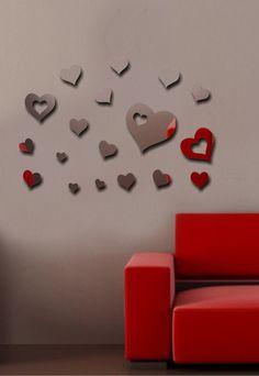 Nine Set de oglinzi Heartfelt