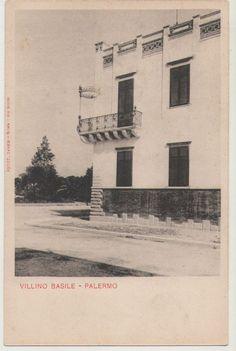 CARTOLINA PALERMO VILLINO BASILE PRIMI 900