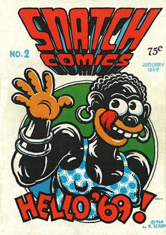 Original Robert Crumb Snatch Comics |