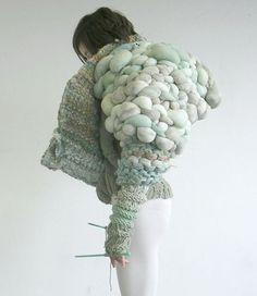 Dans l'ère de la laine…Emilie Zanon #matière #textile #wool