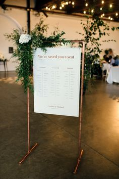 DIY Copper Arbour and Table Plan Stand. Modern Warehouse Wedding in London at Trinity Buoy Wharf. Images by Captured by Katrina Photography Wedding Welcome, Our Wedding, Wedding Ideas, Dream Wedding, Wedding Wows, Wedding Shot, Wedding Music, Wedding Tables, Wedding Things