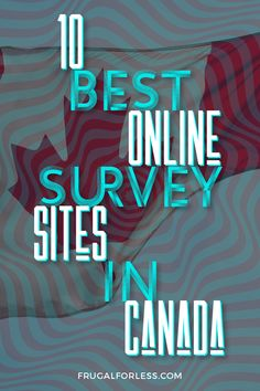 The 10 best online survey sites in Canada to win extra money online from home. FREE TRAINING: How to Earn a Side-Income Online. Make money onilne survey Best Online Survey Sites, Online Surveys For Money, Paid Surveys, Earn Money From Home, Earn Money Online, Way To Make Money, Survey Websites, Thing 1, Online Work