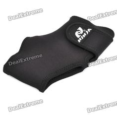 NINJA NH732 Elastic Ankle Support - Black (Size M)