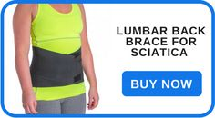 Lumbar Back Brace for Sciatica Pain