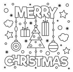 Christmas Coloring Sheets free christmas coloring pages for adults and kids Christmas Coloring Sheets. Here is Christmas Coloring Sheets for you. Christmas Coloring Sheets christmas coloring pages easy peasy and fun. Christmas Pictures To Color, Merry Christmas Pictures, Christmas Colors, Christmas Christmas, Merry Christmas Drawing, Christmas Drawings For Kids, Homemade Christmas, Holiday, Christmas Ideas