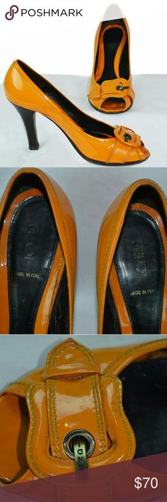 Fendi Buckle peep toe Only accepting trade offers on Haute Trader Fendi Shoes Heels