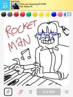 Elton John The First Rocket Man