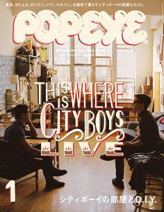 Popeye Magazine January 2013
