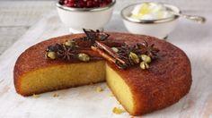 Citrus Polenta Cake