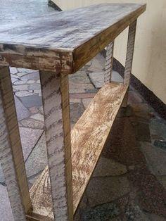 Brechó da Tila: Móveis artesanais madeira de demolição/reciclada