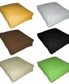 almohadones para sillones eco cuero medida 60x60x10