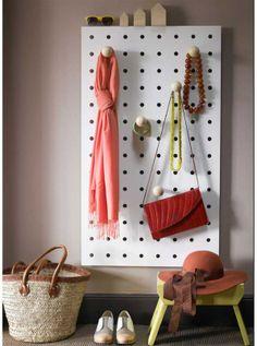 Peg-it-all Wardrobe Board by Kreisdesign