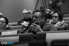 Le #Public à la parole au #LabCom, Christian Baillet.