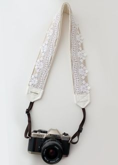 Hey, I found this really awesome Etsy listing at https://www.etsy.com/listing/179523498/lace-camera-strap-kelly