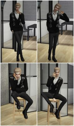 qian 【qian】male solo pose 05 8 pose ♥you need andrew's