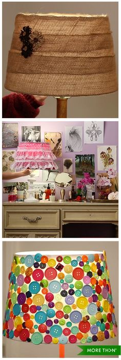 Does your room need a bit of a lift? We have 4 tutorials on how to upcycle your lampshade, new cosy and unique atmosphere guaranteed! Watch the full video by clicking on the image.