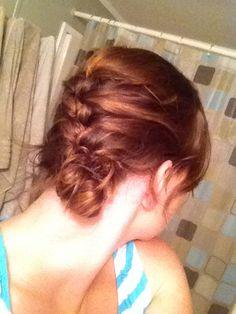 Side braid back