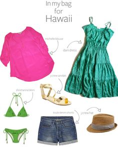 In my bag for my Hawaii trip!