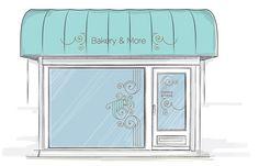Branding for Tips Bakery & More.