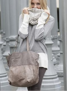 All grey fashion trend for fall