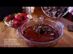 Chocolate-bean cake, yummy