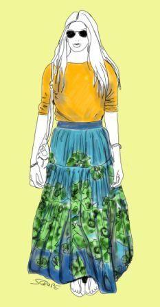 So trägt die moderne, feminin-romantische Frau den Flower-Look.